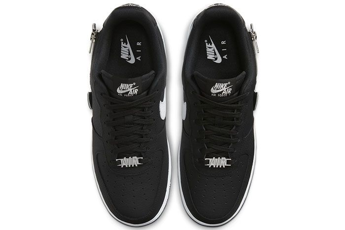 Nike Air Force 1 Zip On Swoosh Logo Release Date 3 Official