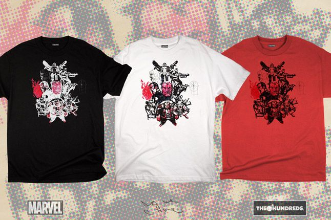 Marvel The Hundreds X Punisher Dave Choe Collection 2012 1