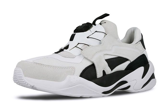 Puma Thunder Disc White Toe