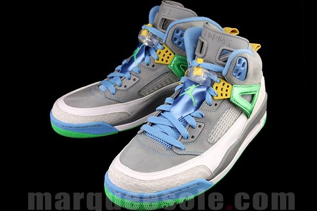 Jordan Spizike Cool Green Front Angle 1
