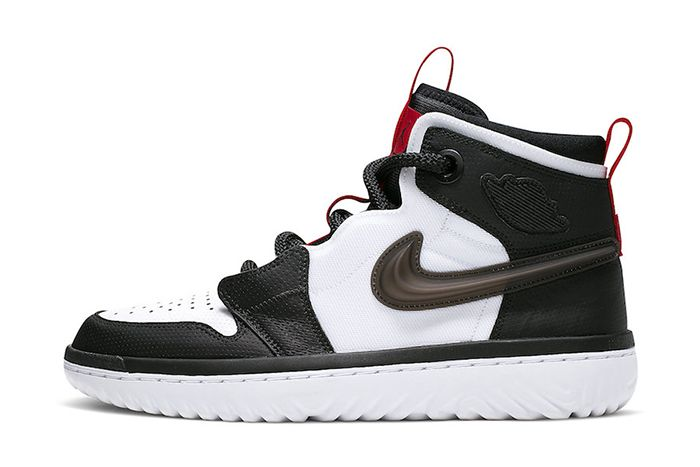 Air Jordan 1 React White Black Red Ar5321 016 Release Date Lateral