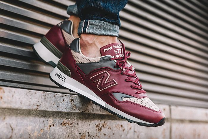 New Balance 577 Made In England Burgundy 3