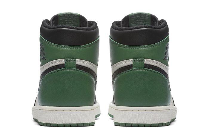 Air Jordan 1 Retro High Og Pine Green Court Purple 3