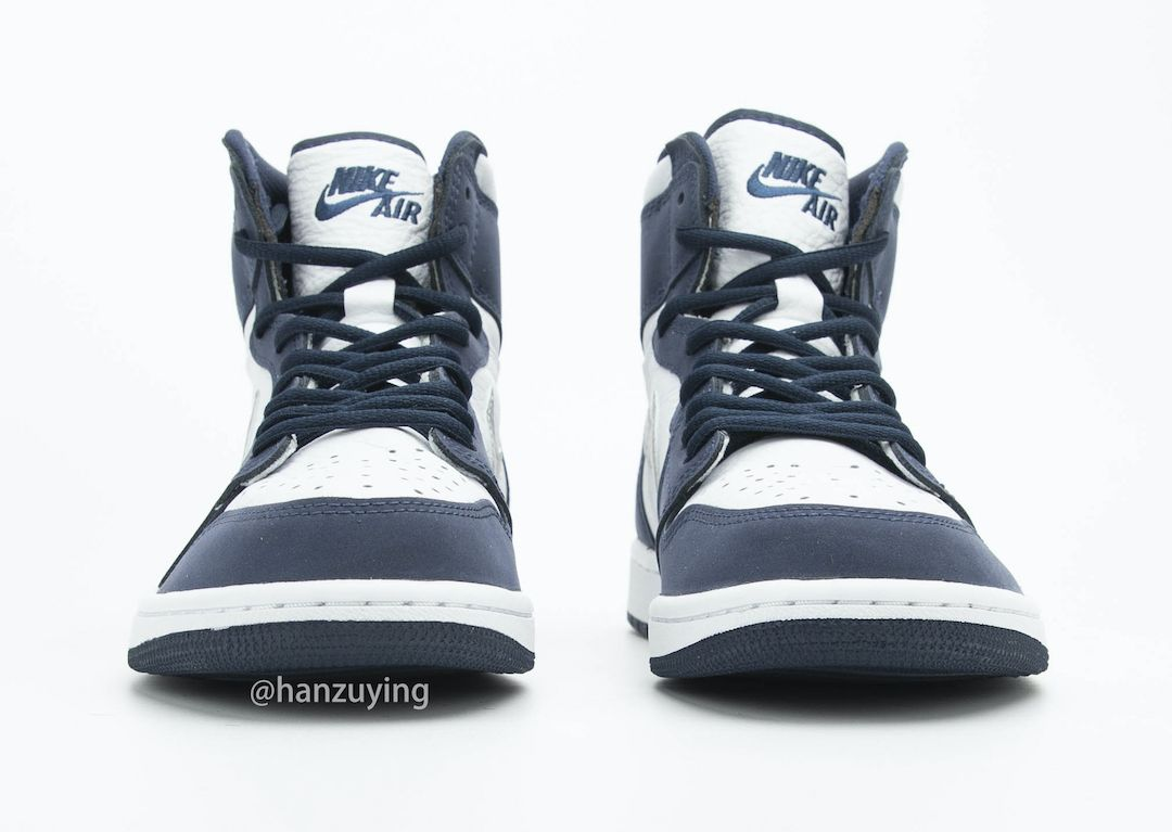 Air Jordan 1 CO JP Midnight Navy Toe