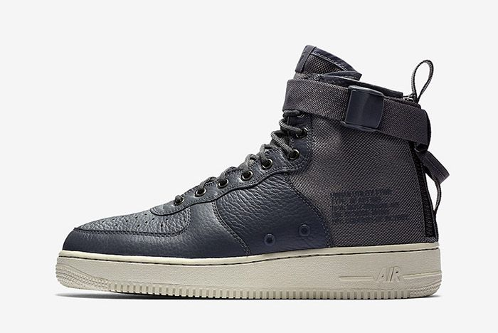 Nike Sf Air Force 1 Mid Dark Grey5