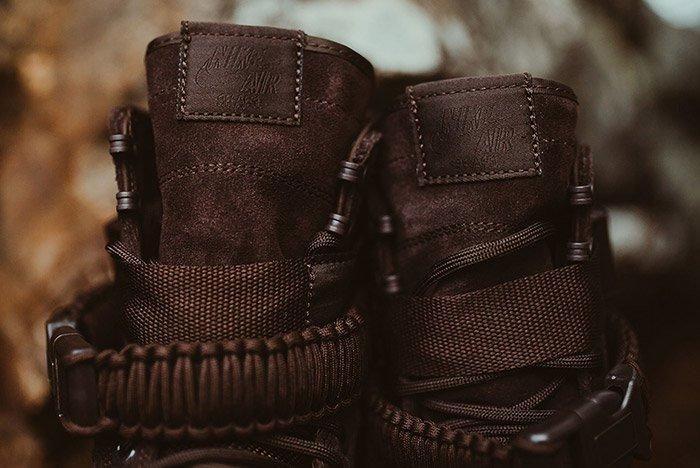 Nike Sf Air Force 1 Mid Brown 4