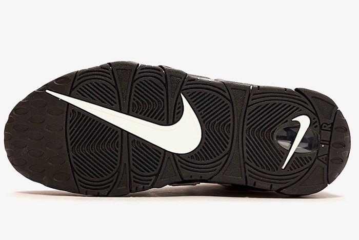 Nike Air More Uptempo Black Camo Sole