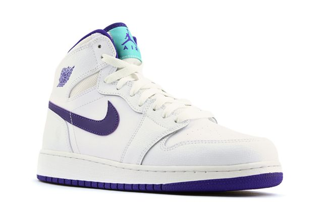 Air Jordan 1 High Gg White Purple 2