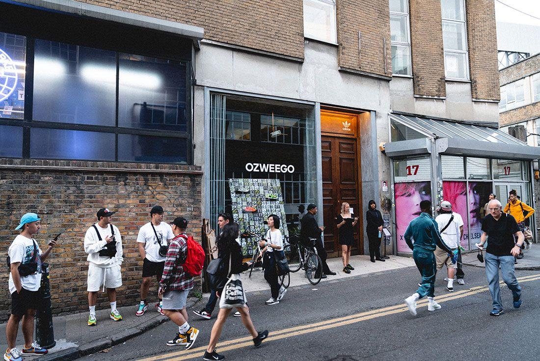 Adidas Ozweego 2019 Sneaker Freaker London Launch Crowd Shot1
