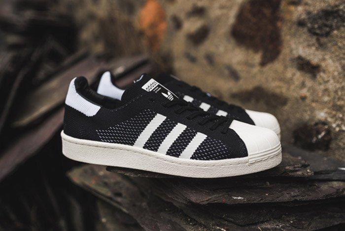 Adidas Superstar Boost Primeknit Black 7