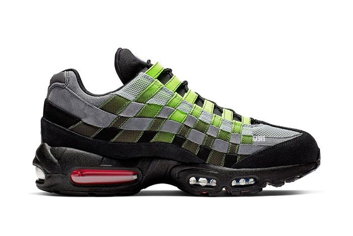 Nike Air Max 95 Woven Black Green Right