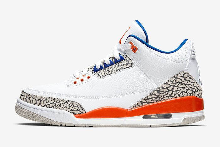 Air Jordan 3 Knicks 136064 148 2019 Release Date Price Side
