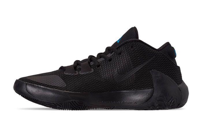 Nike Zoom Freak 1 Black Iridescent Left