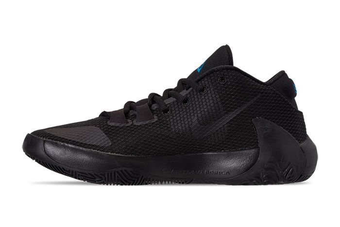 Nike Zoom Freak 1 Black Iridescent Left