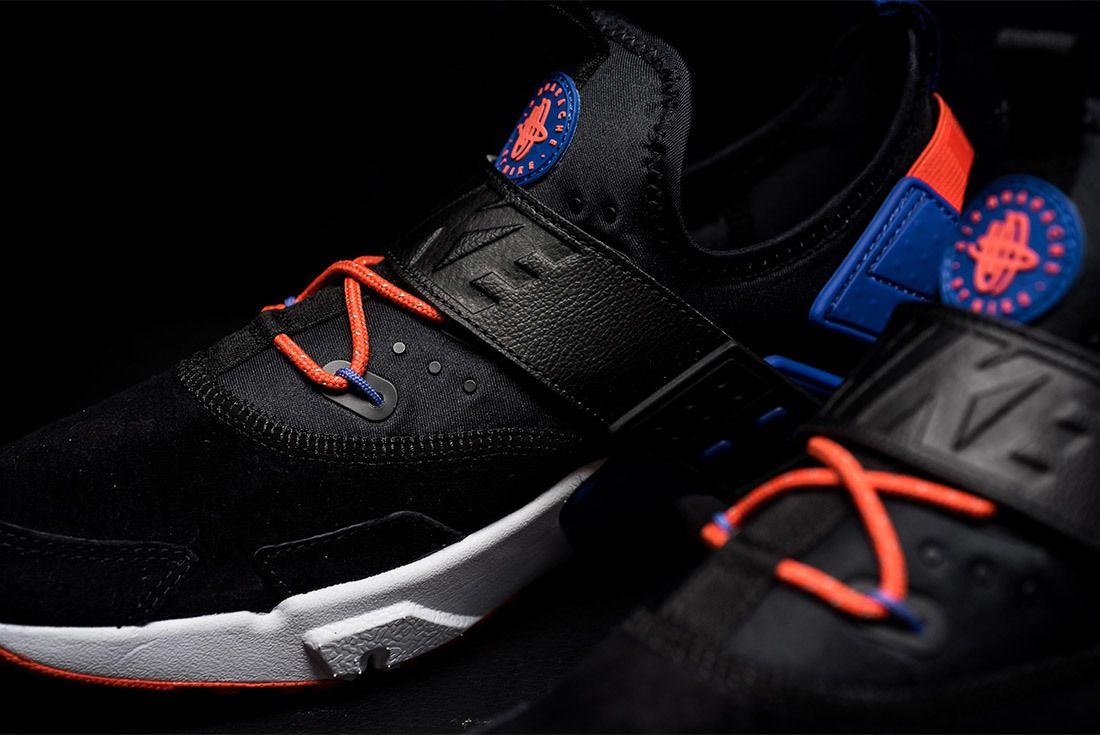Nike Air Huarache Drift Premium Black Rush Violet Rush Orange Ah7335 002 Sneaker Freaker 4