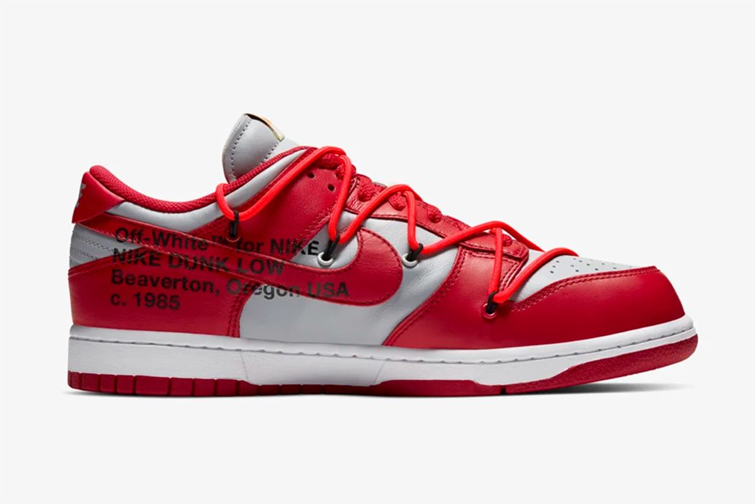 Where To Buy Off White Nike Dunk Red