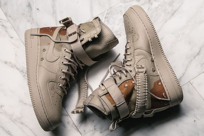 Nike Sf Air Force 1 Desert Camofeature