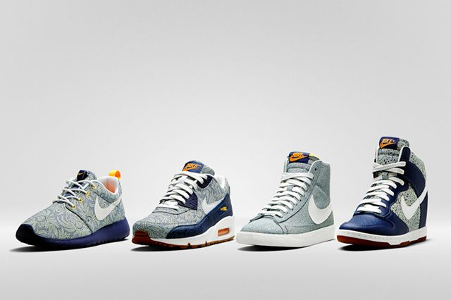 Liberty Of London X Nike Summer 2014 Collection 4