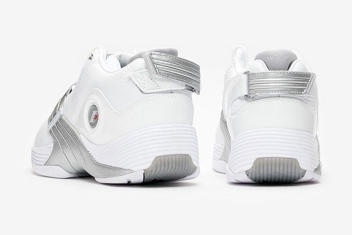 Reebok Answer V White Matte Silver Dv6959 2019 Retro Release Date Heel