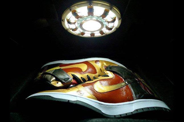 nike iron man light up dunks