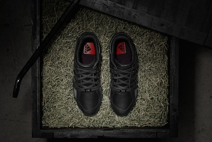 Pusha T X Adidas Eqt Guidance 93 Black Market 4