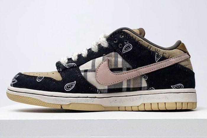 Travis Scott Sb Nike Dunk Low Left