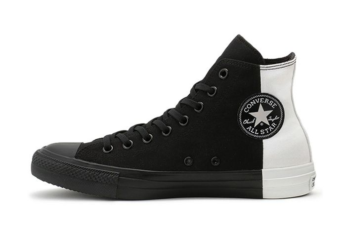 Converse Japan Chuck Taylor Monopanel Hi Black White Left