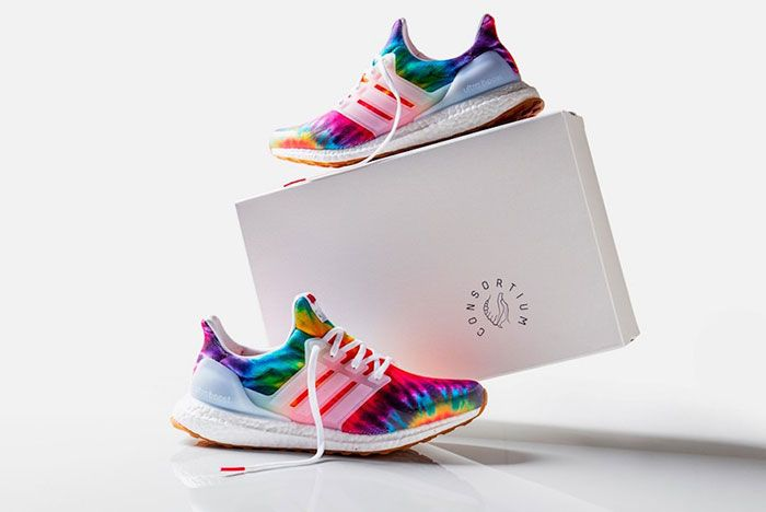 Nice Kicks Adidas Ultra Boost Tie Dye Box