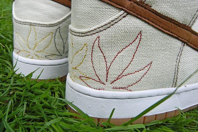 Jbf Customs Nike Dunk Sb Bob Marley Heel Detail2