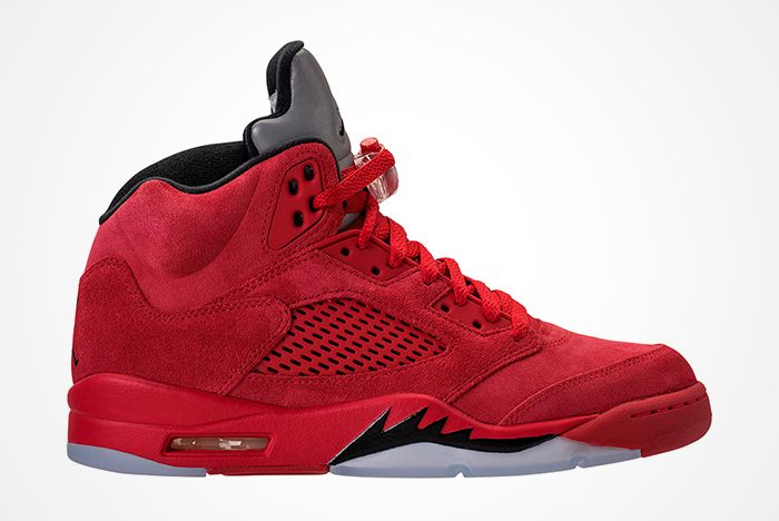 Air Jordan 5 Red Suede6 1