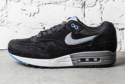 Nike Air Max 1 Premium Black N Blue Thumb