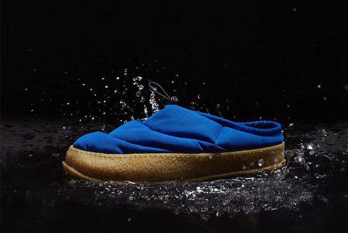 Maison Margiela Low Puffa Shoe Slipper Black Blue White 02 Sneaker Freaker2
