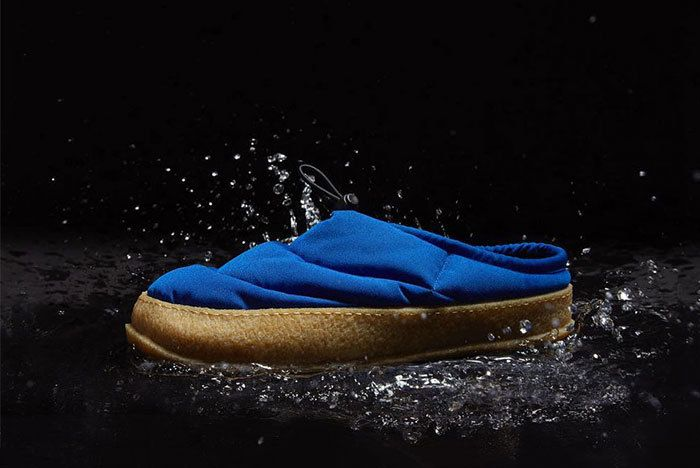 Maison Margiela Low Puffa Shoe Slipper Black Blue White 02 Sneaker Freaker2