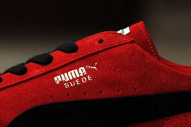 Puma Suede Made In Japan Red Close Logo 1