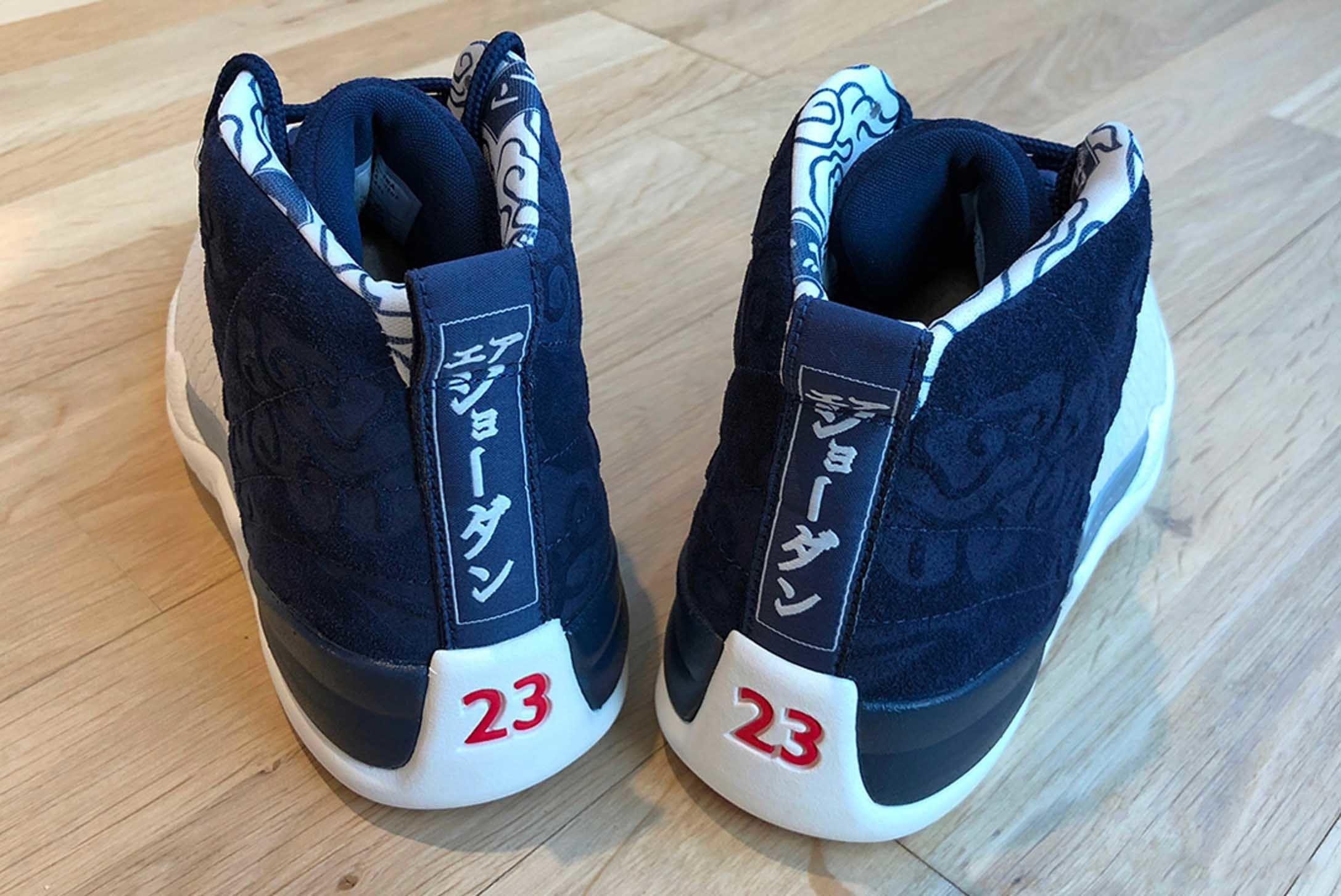 Air Jordan 12 International Pack First Look Release 003 Sneaker Freaker