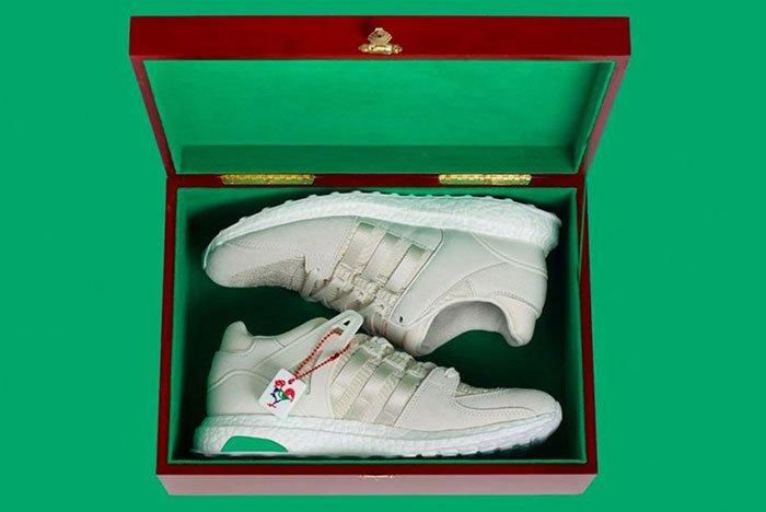 Adidas Eqt Support 93 16 Chinese New Year Rooster White 3 1