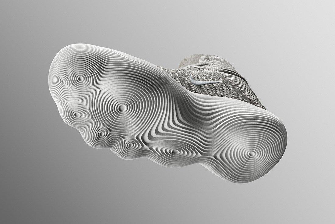 Material Matters Sole Tread Patterns Nike Hyperdunk React 2