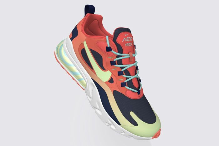 Nike Air Max 270 React Psyched By You Red Side
