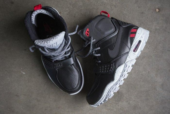 Nike Air Trainer Sc Ii Boot Black Cement2