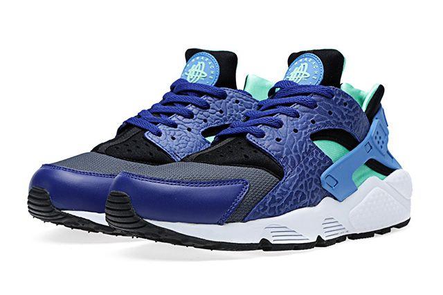 Nike Air Huarache Blue Elephant