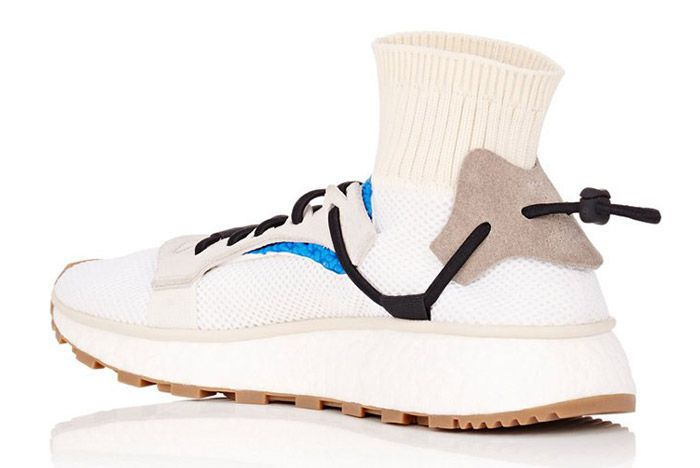 Adidas Alexander Wang Aw Run White Blue 1
