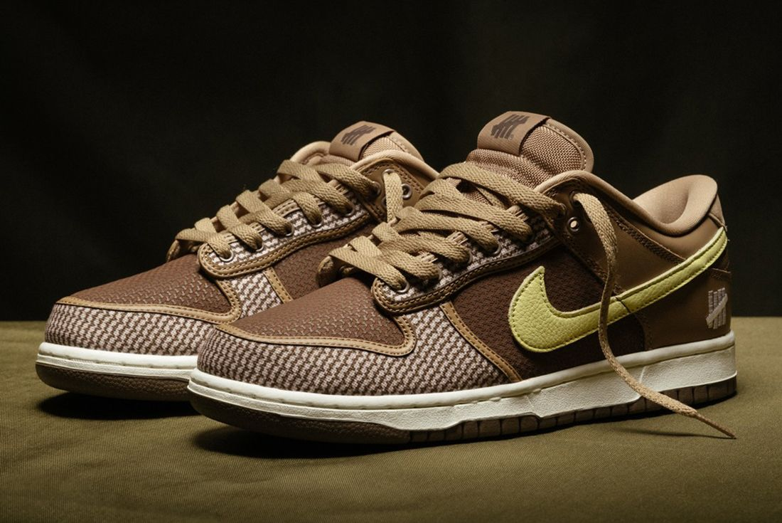 UNDEFEATED x Nike Dunk Low 'Canteen' official