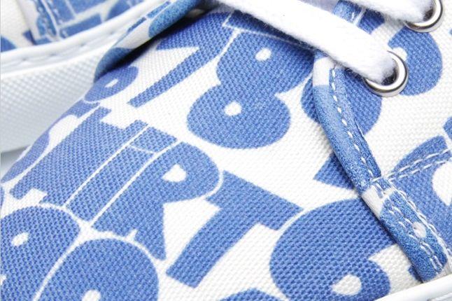 Comme Des Garcons Shirt X The Generic Man Print Sneaker Toebox 1