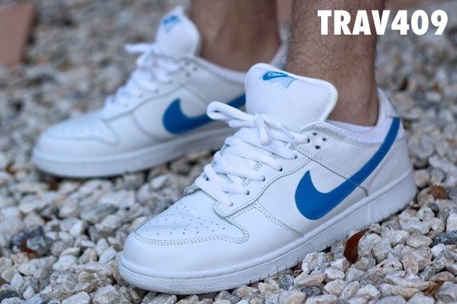 Trav409 White Dunk Low 1
