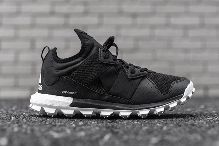 Adidas Response Trail Boost Black White 4