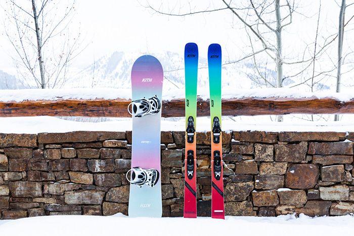 Kith Adidas Terrex Skis
