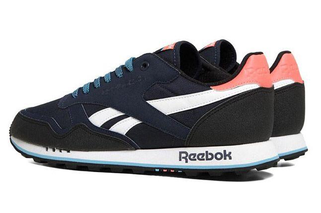 Reebok Classic Leather Trail Infinite Blue Quater Back 1