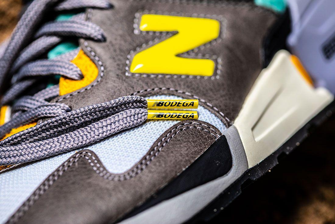 Bodega New Balance No Bad Days Sneaker Freaker3 Logo