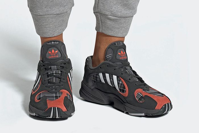 Adidas Yung 1 Plaid 2