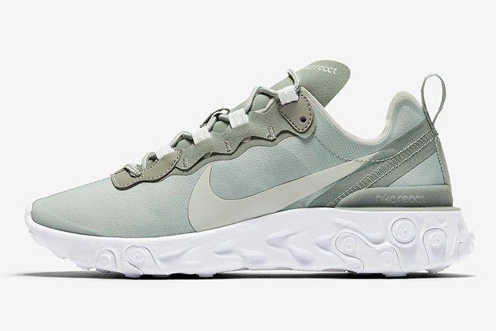 Nike React Element Mica Green Side